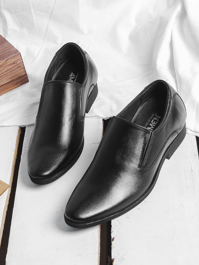 Giày Tăng Chiều Cao Đen G197