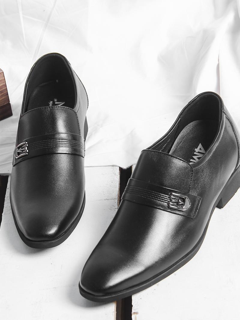 Giày Tăng Chiều Cao Đen G201