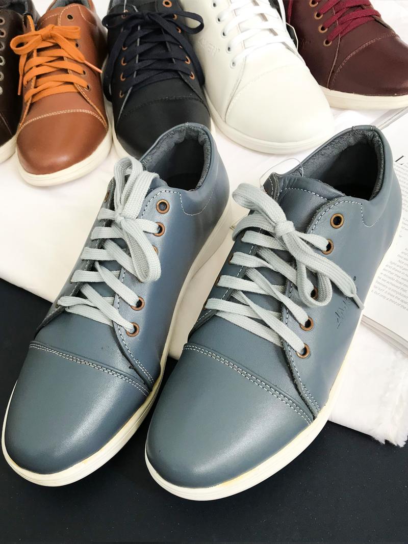 Giày Thể Thao Xám Xanh G169
