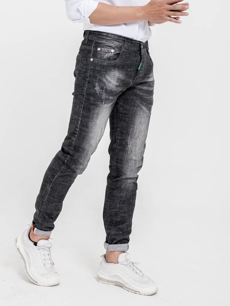 Quần Jeans Skinny Xanh Đen QJ1613