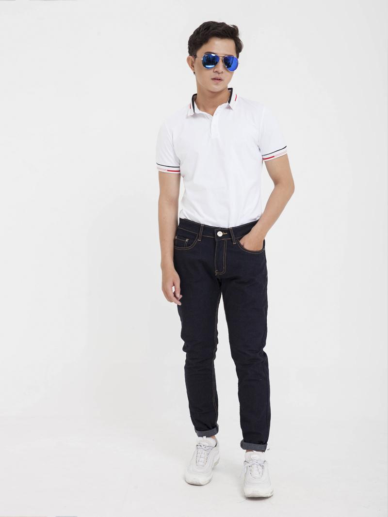 Quần Jeans Skinny Đen QJ1609