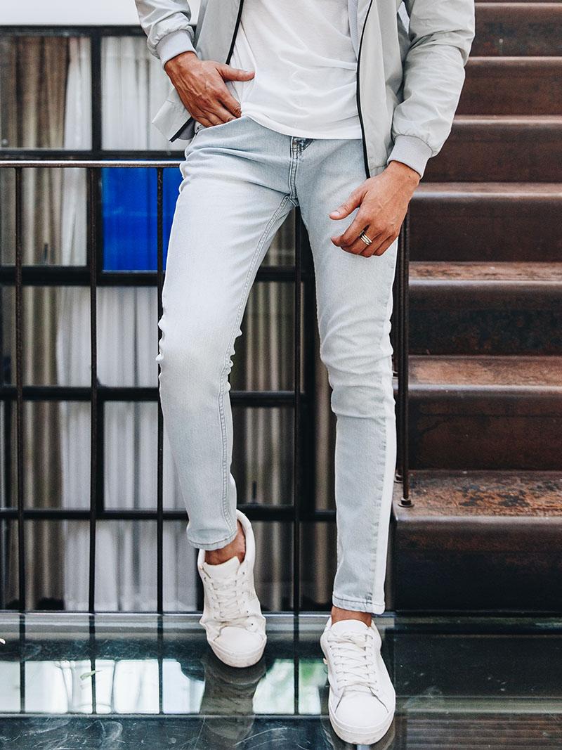 Quần Jeans Skinny Bạc QJ1616