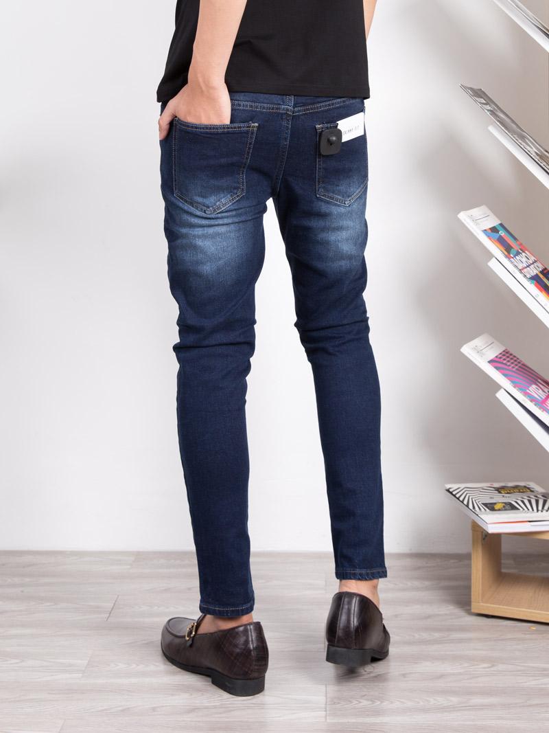 Quần Jeans Skinny Xanh Đen QJ1633