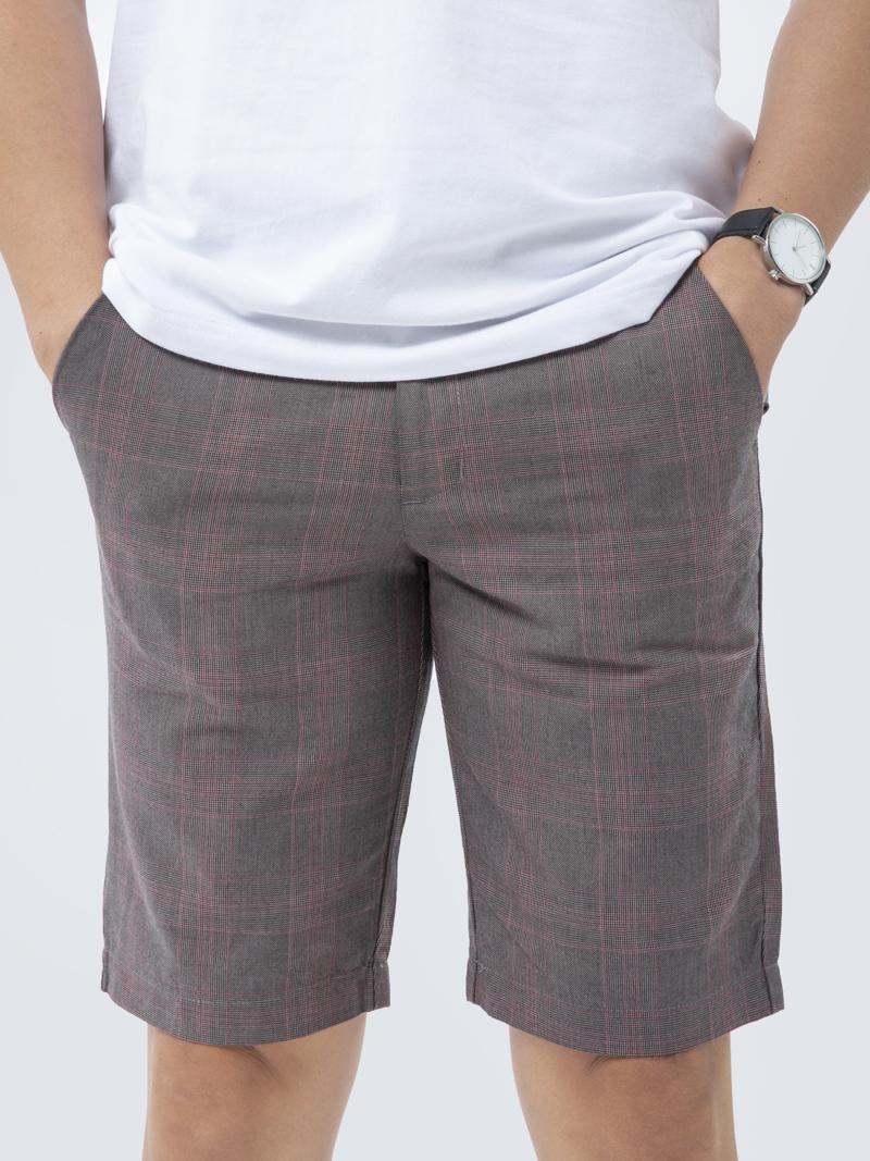 Quần Short Kaki Caro QS193 Màu Xám