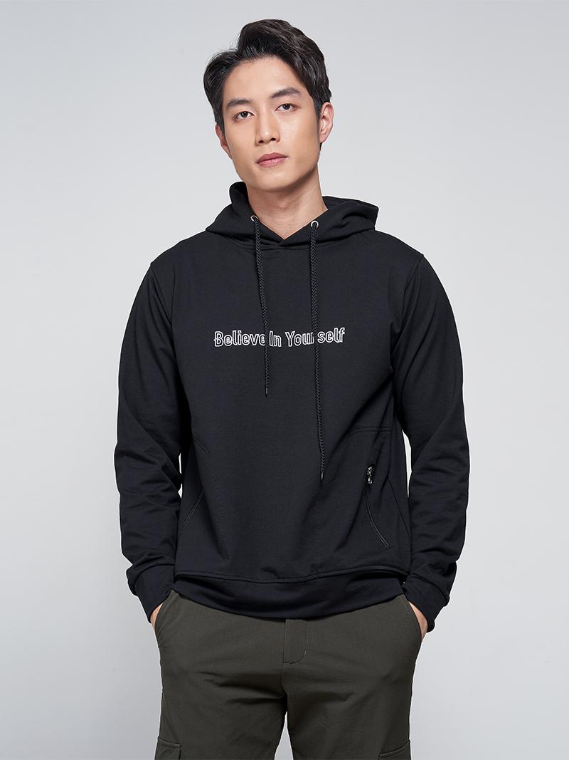 Áo Hoodie Believe AK012 Màu Đen