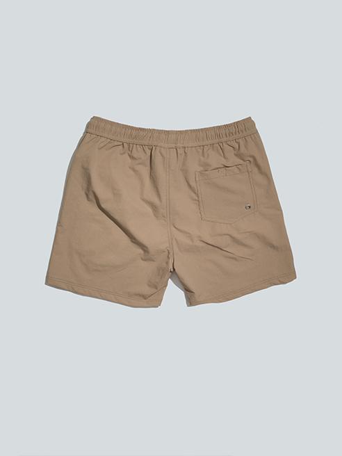 Quần Short Bơi Màu Nâu Nhạt QS012